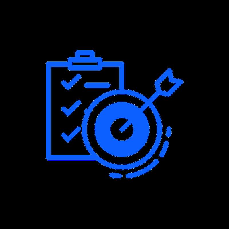 Icon Auswertung und Ziele