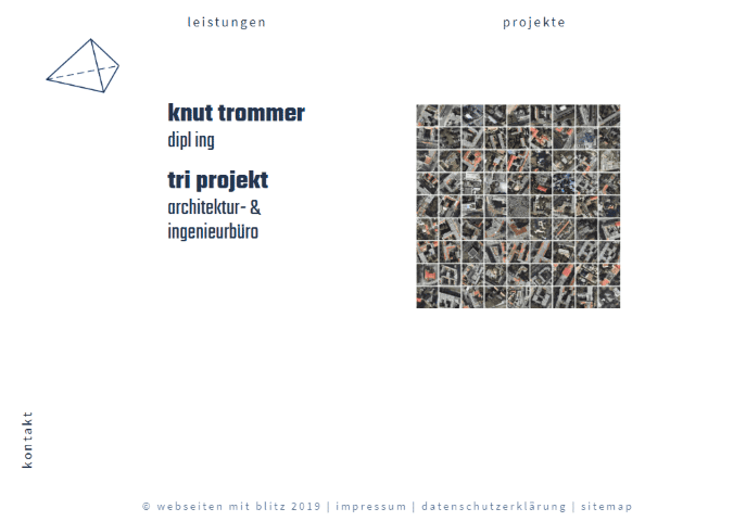 Referenz Website Knut Trommer