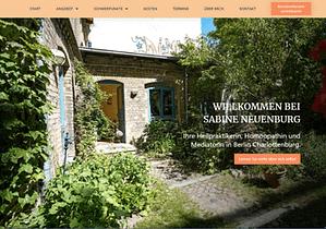 Referenz Website Sabine Neuenburg
