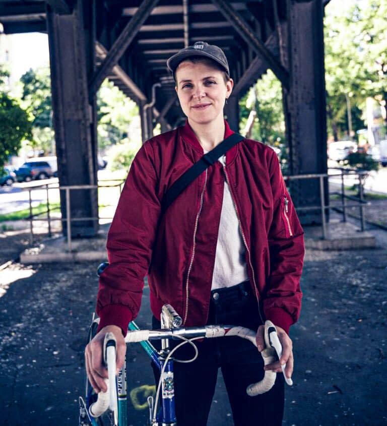 Portrait von Webdesignerin Maria Preußmann in Berlin