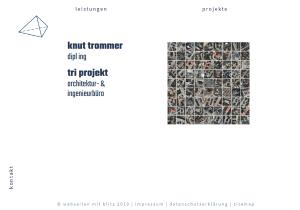 Referenz Website Knut Trommer