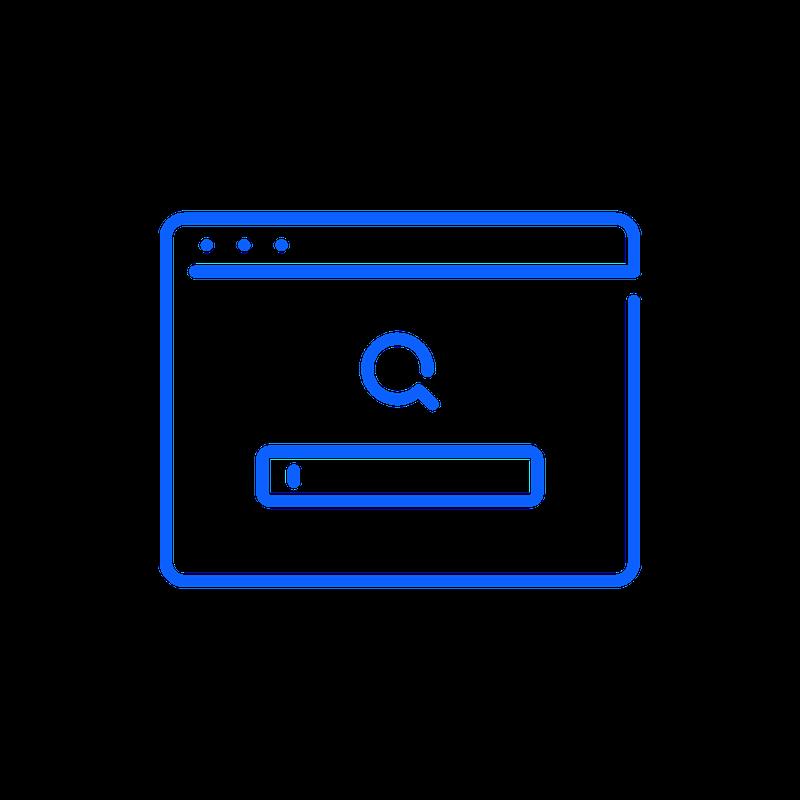 Icon Funktion Suchmaschinen