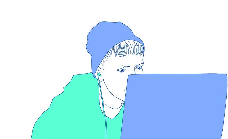 Illustration von Webdesignerin Maria Preußmann bei Website Beratung